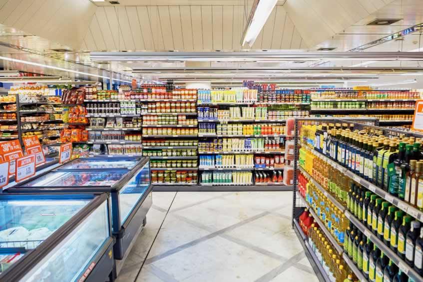 Agencement & Aménagement dans le secteur de l'Alimentation avec rayonnage